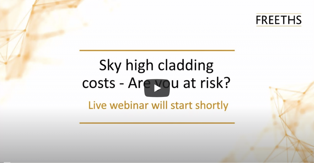 Sky High Cladding Issues & Risks Webinar - April 2020