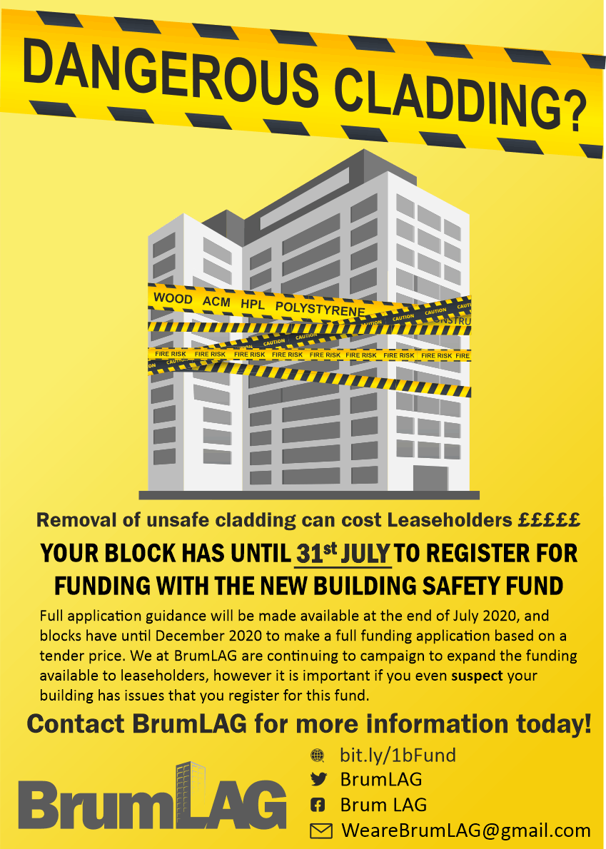 Cladding Fund poster