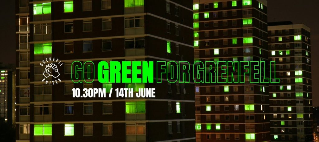 Go Green For Grenfell